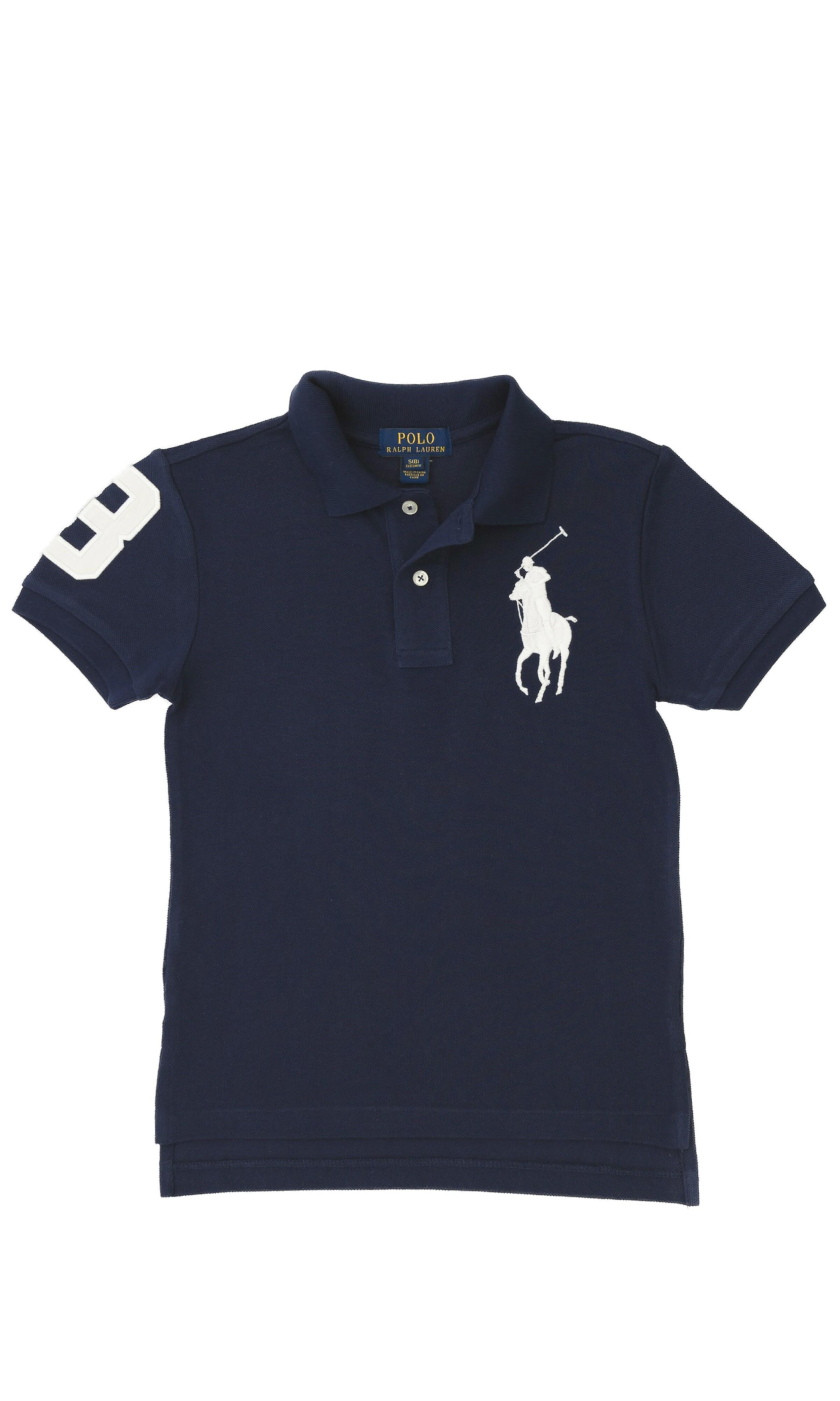 Boy's navy blue polo shirt, Polo Ralph Lauren - Celebrity-Club