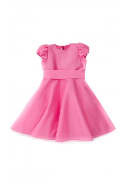 Pink dress, Mariella Ferrari
