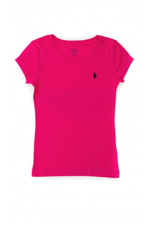 Girl's pink T-shirt, Polo Ralph Lauren