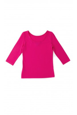 Różowa bluzka dziewczęca, Polo Ralph Lauren