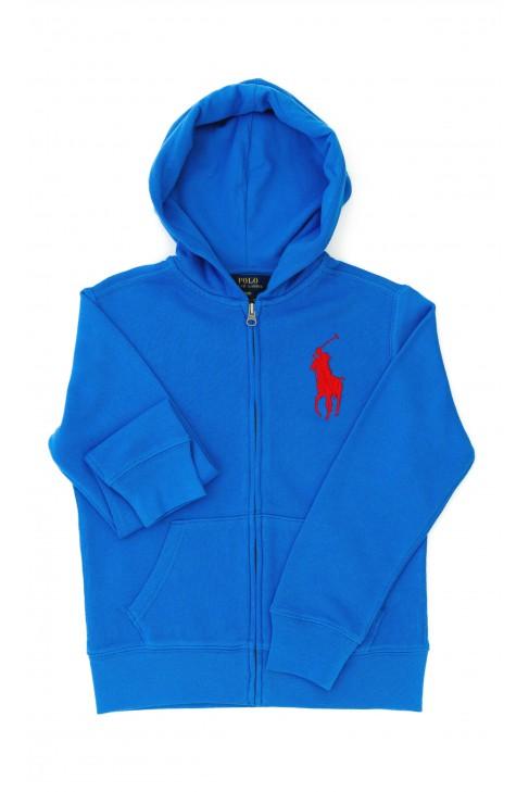 Niebieska bluza chłopięca, Polo Ralph Lauren