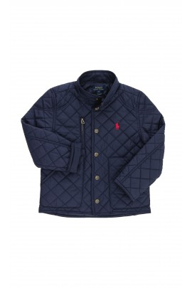 Granatowa pikowana kurtka, Polo Ralph Lauren