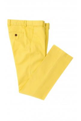 Żółte spodnie super slim, Polo Ralph Lauren