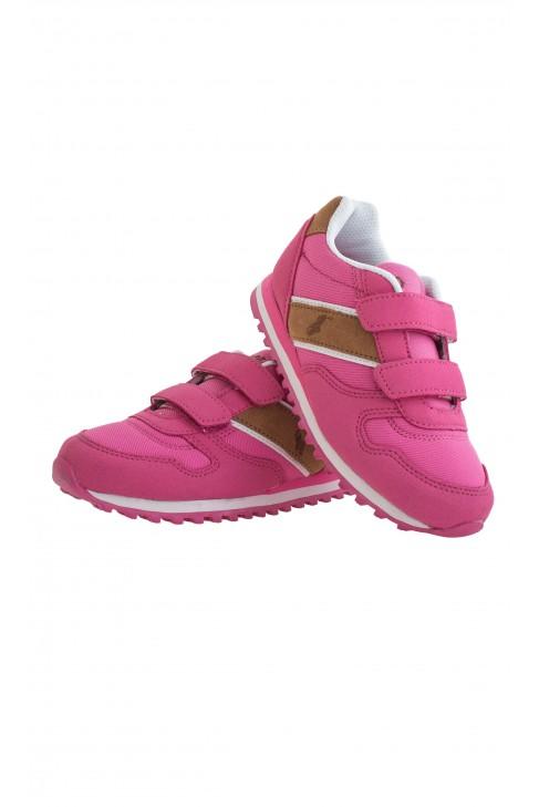 Różowe buty sportowe Polo Ralph Lauren
