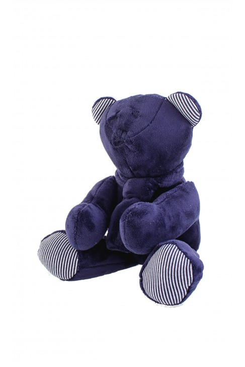 Navy blue teddy bear, Ralph Lauren