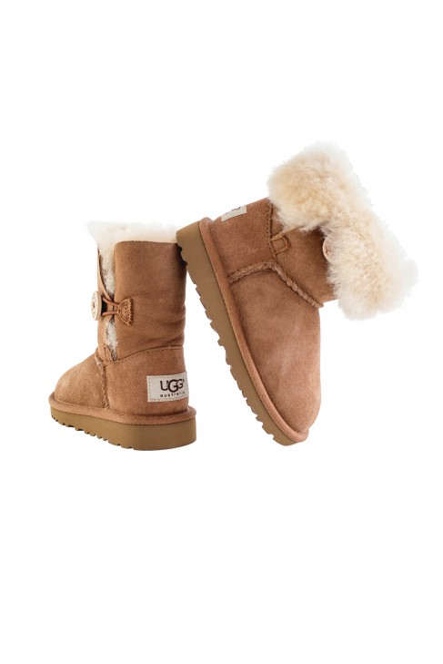 Buty brązowe Bailey Button, UGG