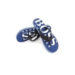 Navy blue flip-flops, Hugo Boss