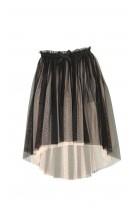 Tiulowa czarna spódnica, Une fille today I am