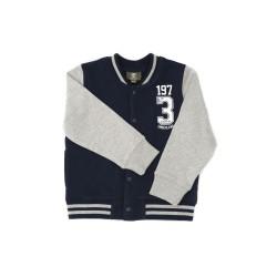 Navy blue-and-grey sweatshirt, Timberland