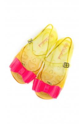 Żółte meliski z różową kokardą, Billieblush
