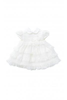 Écru sukienka do chrztu, Aletta