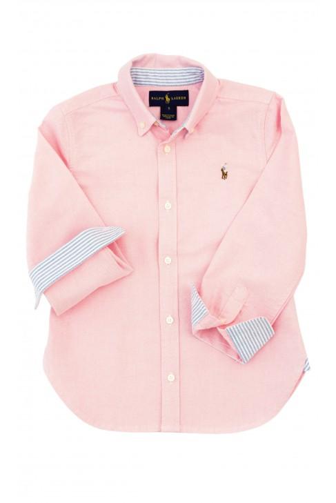 Koszula różowa dziewczęca, Polo Ralph Lauren