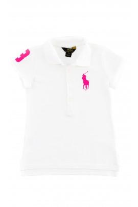 Białe polo dziewczęce, Polo Ralph Lauren