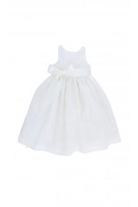 Mleczno-biała sukienka, Polo Ralph Lauren
