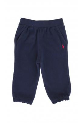 Granatowe spodnie dresowe  Ralph Lauren