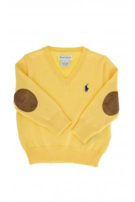 Żółty sweterek Polo  Ralph Lauren