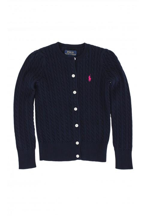 Granatowy sweter, Polo Ralph Lauren
