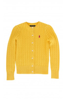Żółty sweter Polo Ralph Lauren
