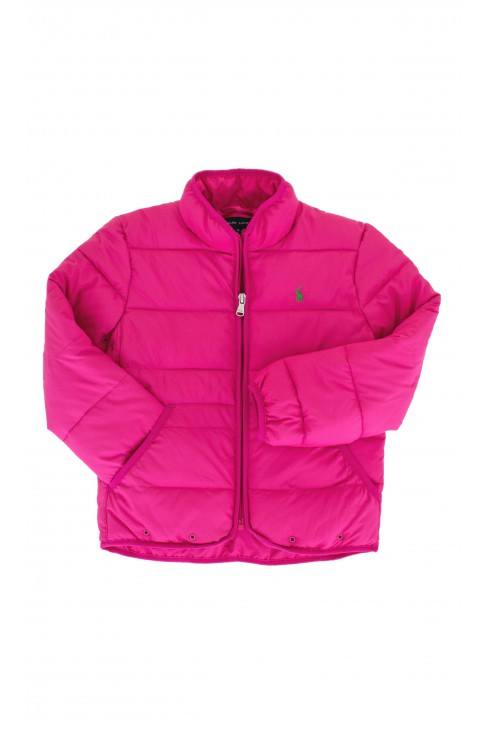 Pink quilted jacket, Polo Ralph Lauren