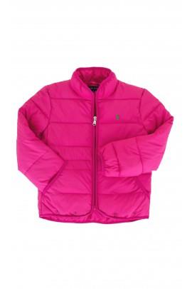 Różowa ocieplana kurtka, Polo Ralph Lauren