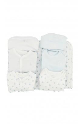 Biało-niebieska wyprawka niemowlęca, Polo Ralph Lauren