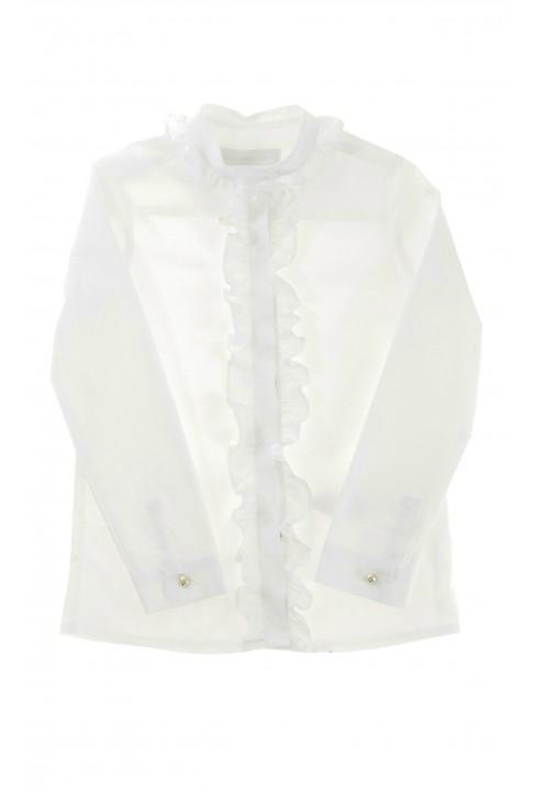 Biała bluzka dziewczęca, Tartine et Chocolat