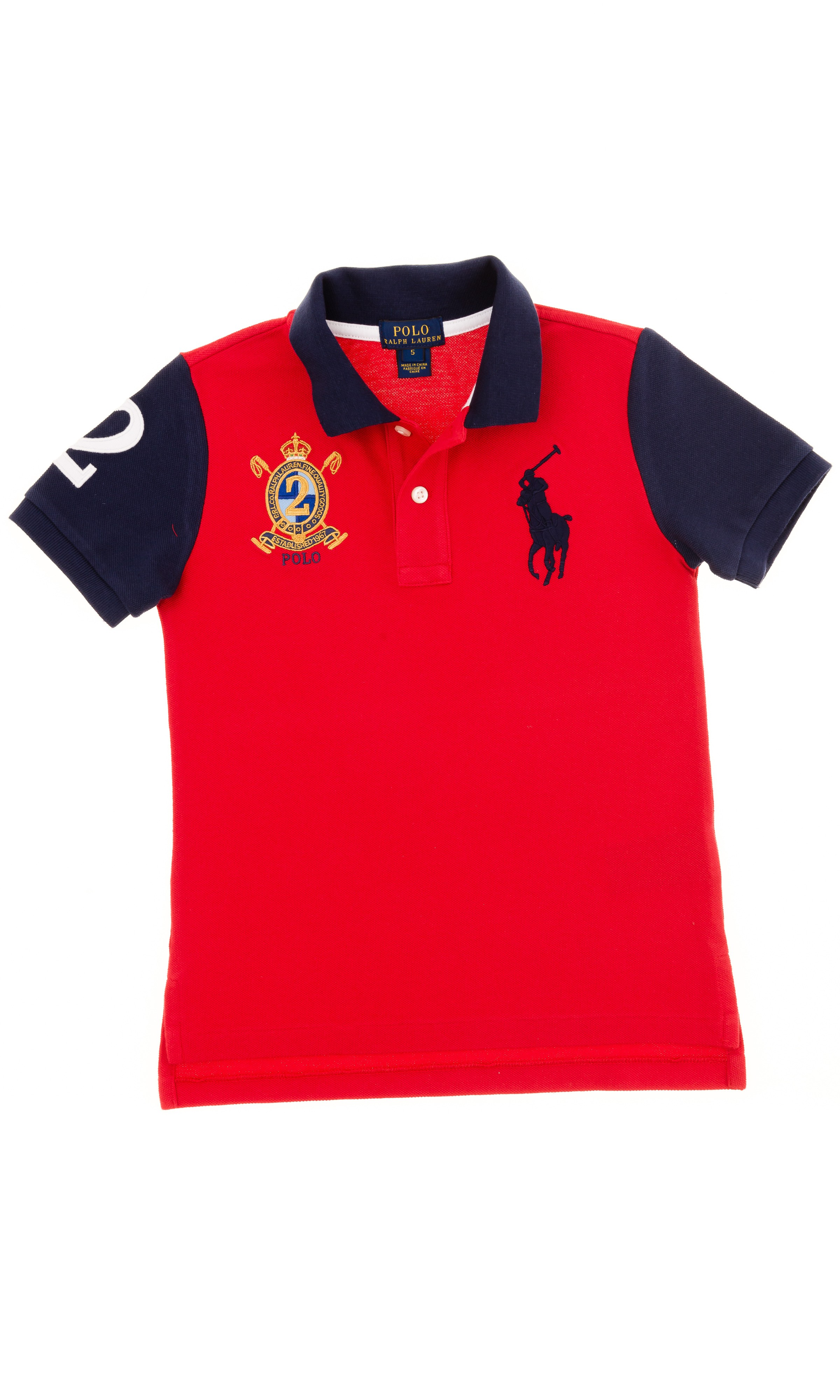 Red boy polo shirt polo ralph lauren celebrity club for Ralph lauren polo club shirts