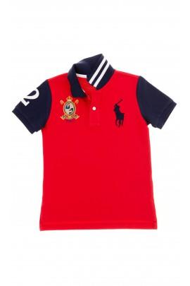Czerwona polówka chłopięca, Polo Ralph Lauren