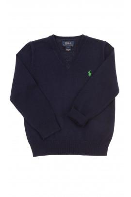 Sweter granatowy chłopięcy, Polo Ralph Lauren