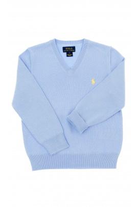 Niebieski sweter chłopięcy, Polo Ralph Lauren
