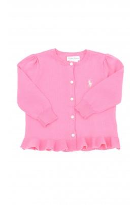 Różowy sweter niemowlęcy, Polo Ralph Lauren