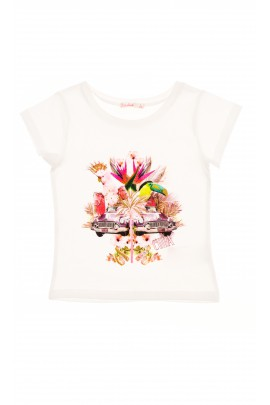 T-shirt dziewczęcy, Billieblush