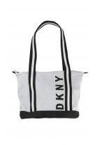 Szaro-czarna torba, DKNY