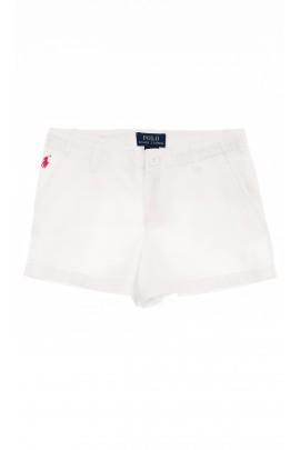 Białe spodenki dziewczęce, Polo Ralph Lauren