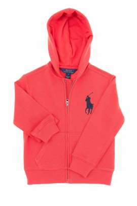Bluza czerwona z kapturem, Polo Ralph Lauren