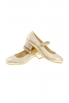Złote pantofelki na obcasie, Monnalisa