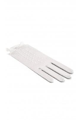 Rękawiczki komunijne z perełkami, Lesy