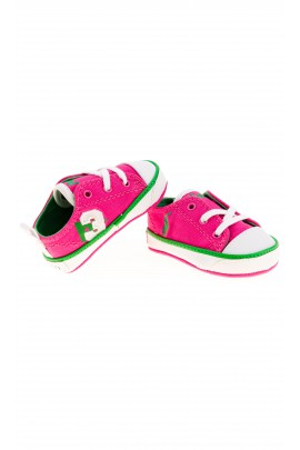 Różowe trampki niemowlęce, Polo Ralph Lauren