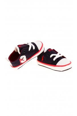 Granatowe trampki niemowlęce, Polo Ralph Lauren