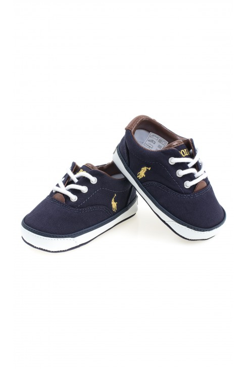 Navy blue baby shoes Polo Ralph Lauren Celebrity Club