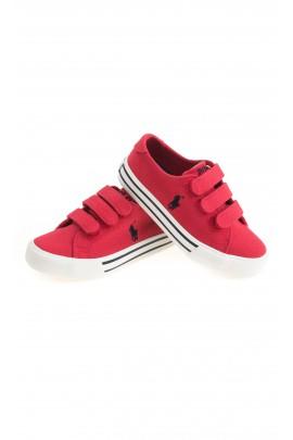 Czerwone tenisówki chłopięce, Polo Ralph Lauren