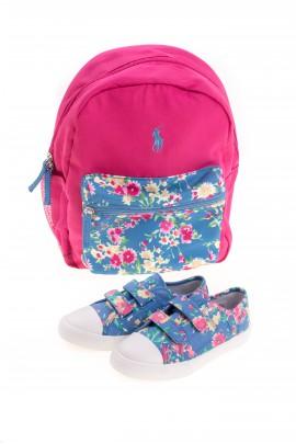 Różowy plecak, Polo Ralph Lauren