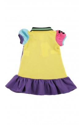 Fioletowa sukienka, Polo Ralph Lauren