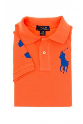 Pomarańczowa polówka chłopięca, Polo Ralph Lauren