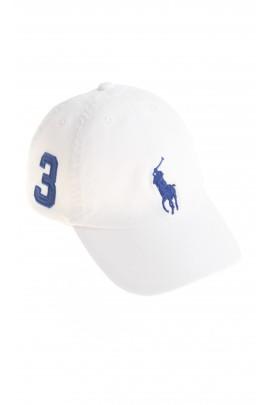 Biała czapka chłopięca, Polo Ralph Lauren