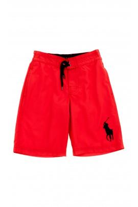 Czerwone spodenki kąpielowe, Polo Ralph Lauren