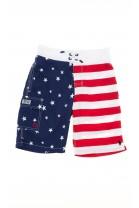 Spodenki kąpielowe z wzorem flagi amerykańskiej, Polo Ralph Lauren