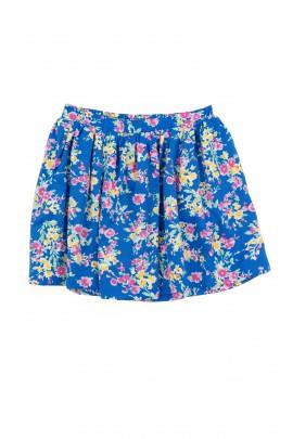 Niebieska spódnica w kwiaty, Polo Ralph Lauren