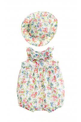 Rampers w kwiatki dziewczęcy, Polo Ralph Lauren