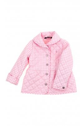 Różowo-biała kurtka dziewczęca, Polo Ralph Lauren
